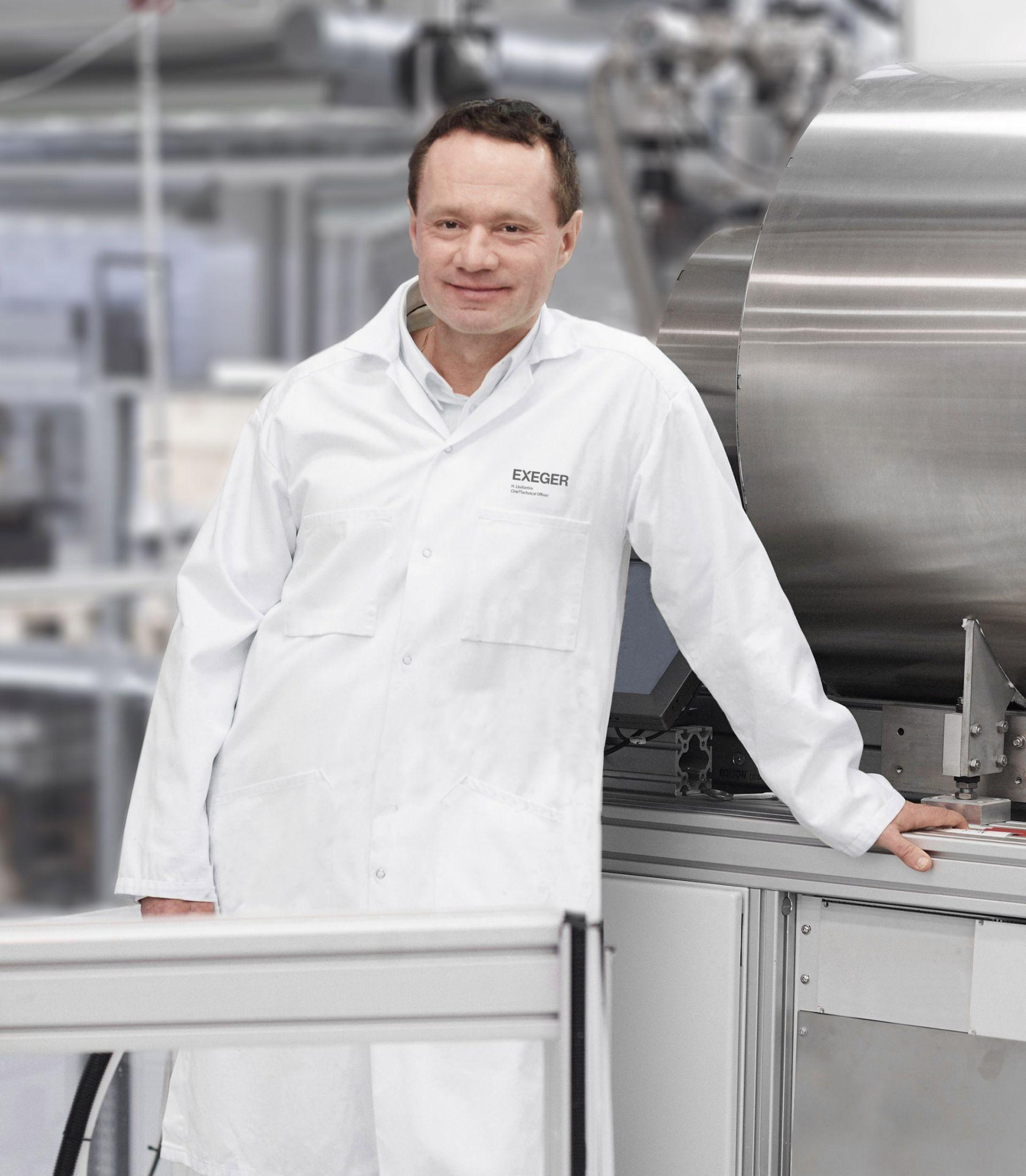 Dr. Henrik Lindström, CTO, Exeger